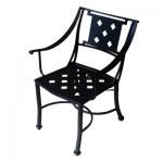 SC-50-Diamond Sheet Cast Dining Chair by Florida Patio