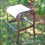 E-71 Armless Backless Sling Bar Chair