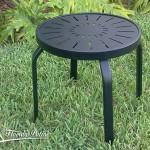R-18 Design Top 18 inch Aluminum End Table