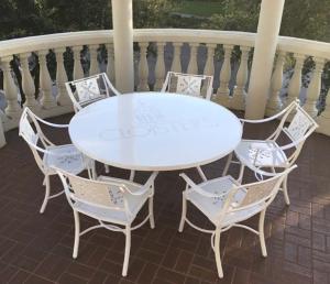 aluminum-table-set