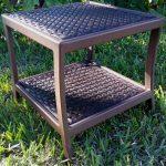 wicker-side-table