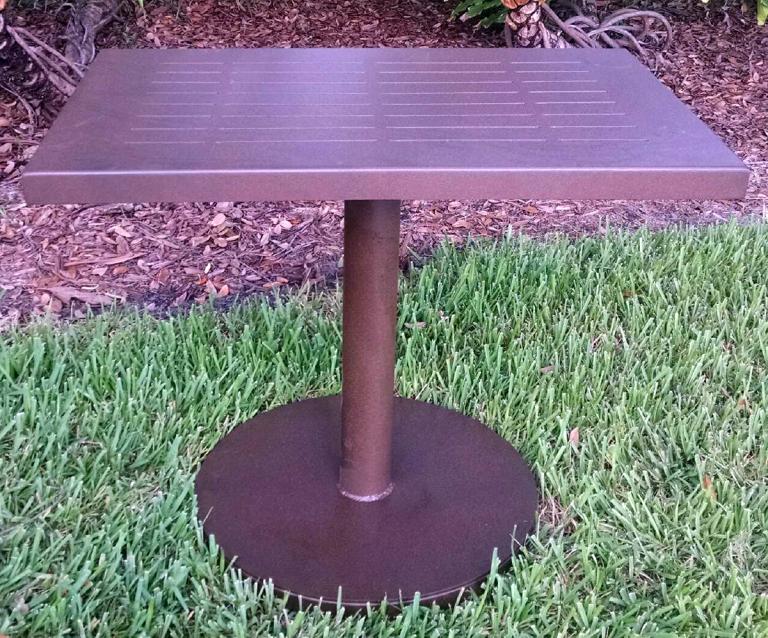 Pedestal Table 24×36 1