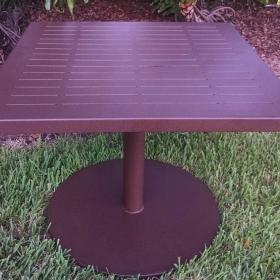 Pedestal Table 36×36