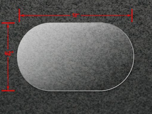 42x72A Oval Acrylic Top 1