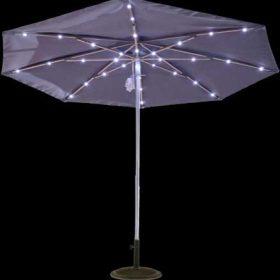 9ft Solar Light Umbrella 3