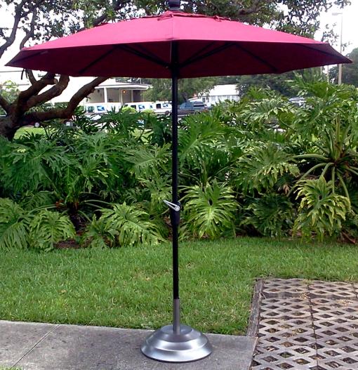 9ft Market Umbrella 1