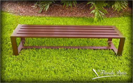 Aluminum Backless Bench – B-2013 1