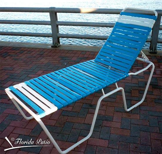 Senior Friendly Chaise Lounge C 152 Florida Patio