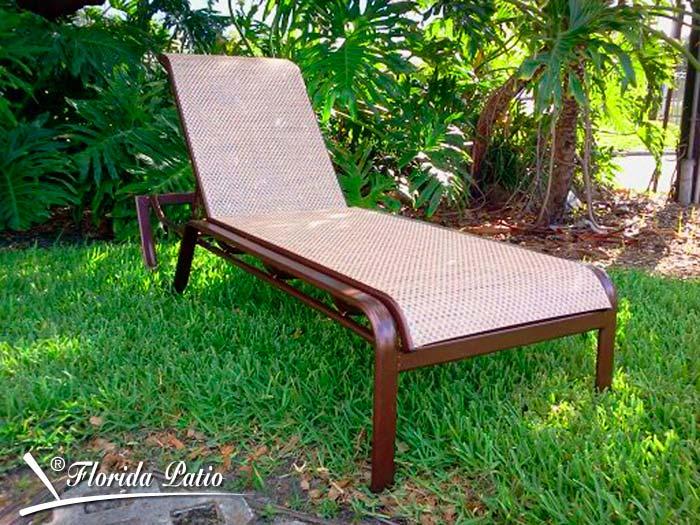 E 159 Chaise Lounge Florida Patio Outdoor Patio