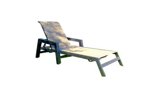 M-150 Millennium Commercial Sling Chaise Lounge 1