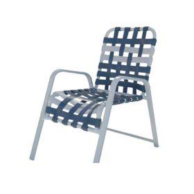 Regal Cross Strap Dining Chair - R-50C
