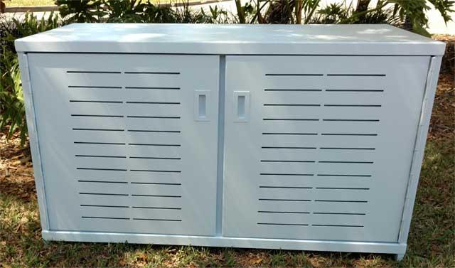 Aluminium Cabinet Manufacturers : Aluminum cabinet florida patio outdoor furniture