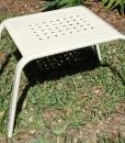 Aluminum Side Table 2