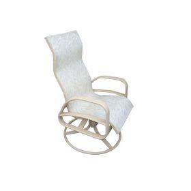 E-351 High Back Swivel Rocker Patio Chair