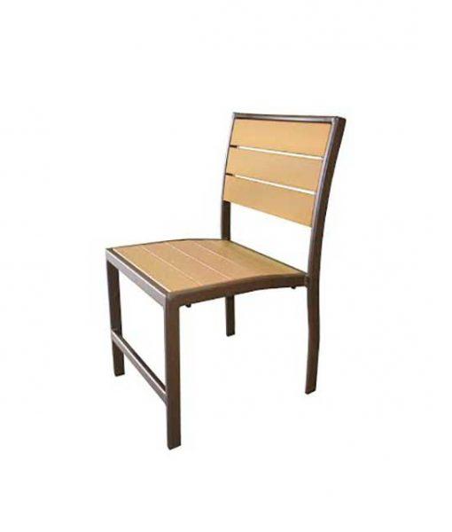 Eco Wood Armless Dining Chair – EW-49 1
