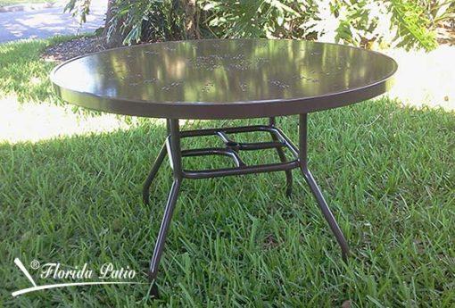 Outdoor Aluminum Table – R-48 – 48″ 1