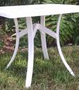 Square Fiberglass Dining Table 2