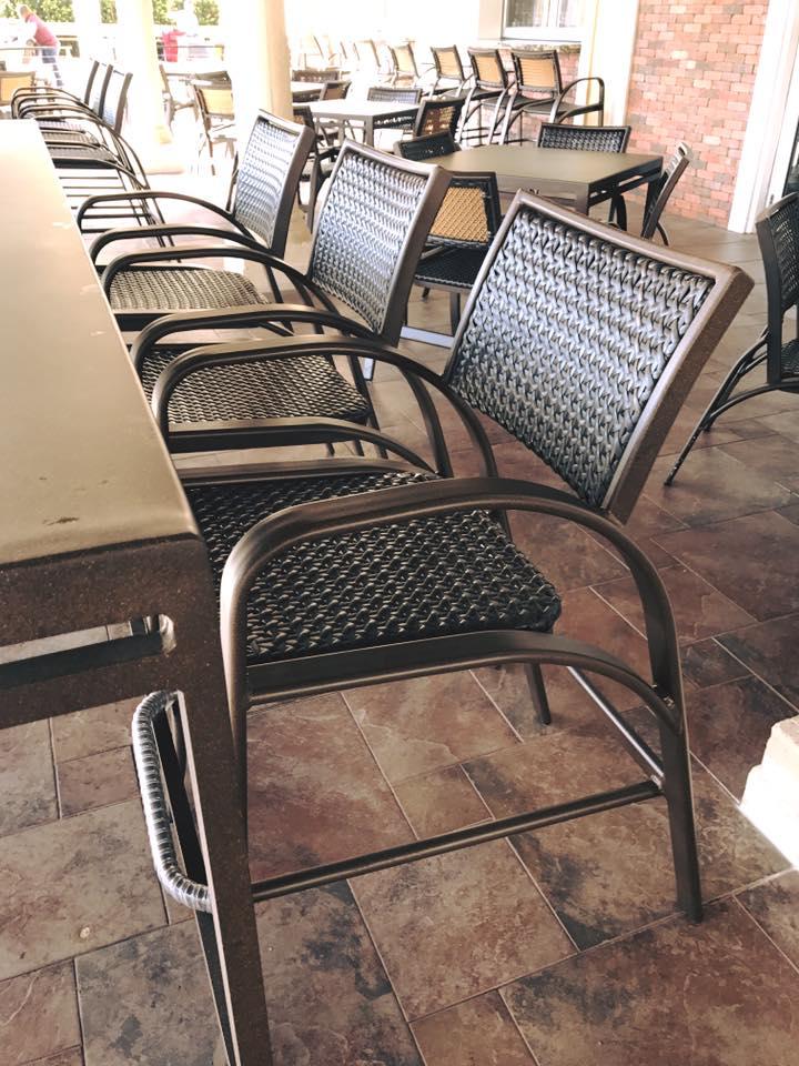 Wicker Patio Furniture Red Cushions: Florida Patio: Outdoor Patio Furniture