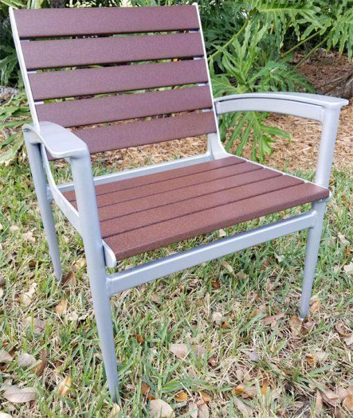Quantum Wood Slat Chair