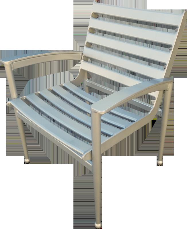 Q-50 Alum Dining Chair