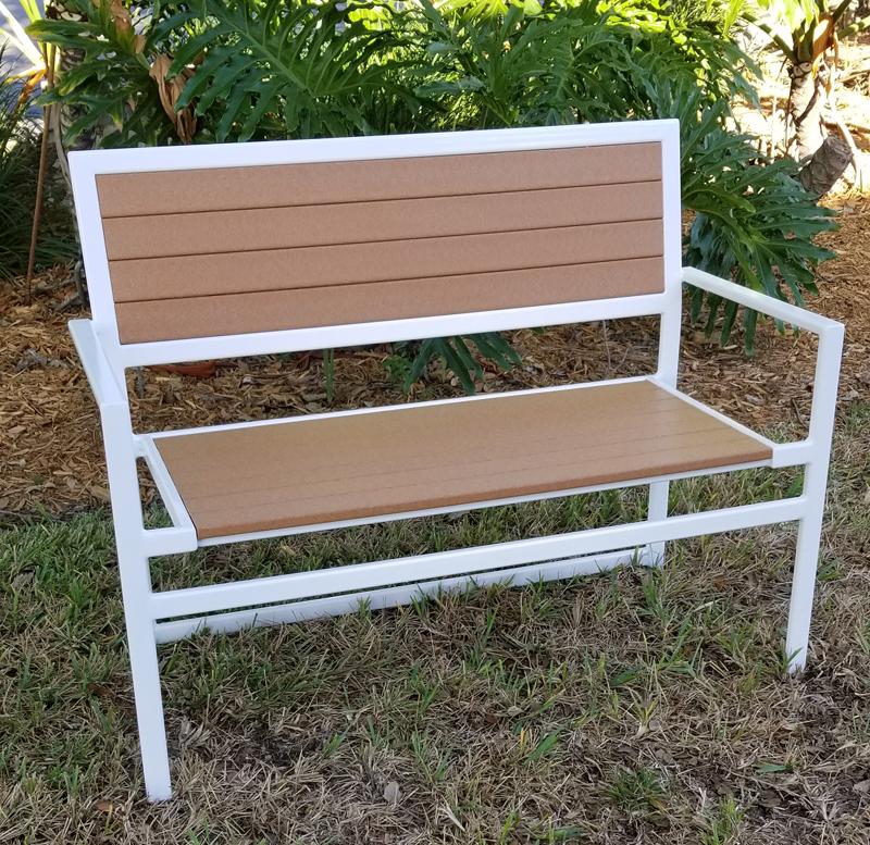 faux-love-seat