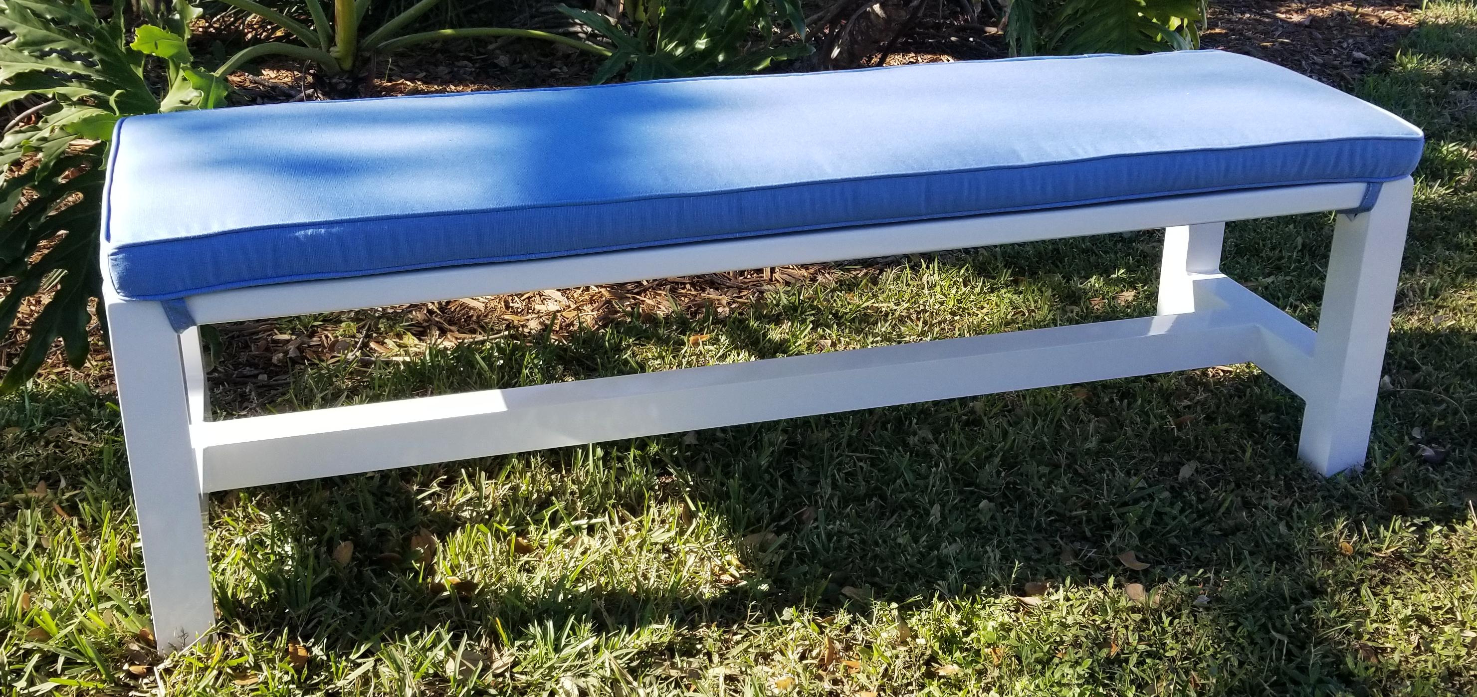 Millennium Bench with cushion