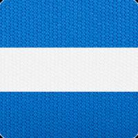 Blue & White Strip