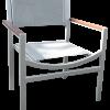 Alpha Sling Teak Arm Chair 1