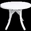 Round Fiberglass Dining Table
